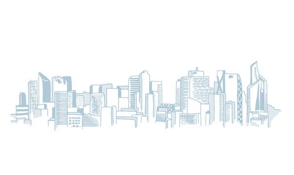 City Skyline Paris La Defense