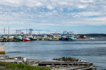 Fishing village, Route 450, Newfoundland Canada