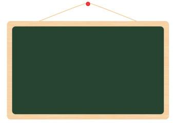 木目調 黒板 メッセージボード 深緑