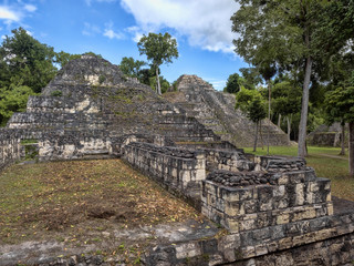 Yaxha Nakum Naranjo National Park, Mayan Archaeological Monument, Guatemala