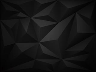 Dark polygon 3d background
