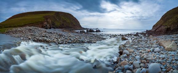 Duckpool Beach Cornwall England UK