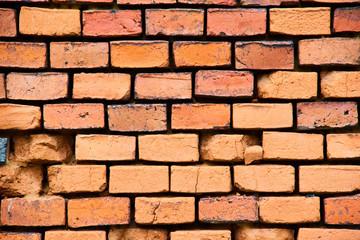 Brick wall background, grunge background