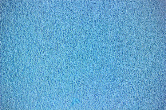 Blue pastel or sky color wall  texture abstract for background.