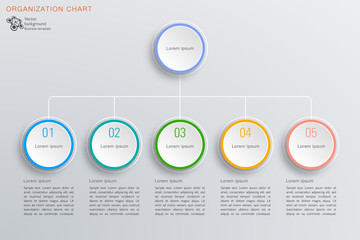 Business Chart Design, Vector Graphics