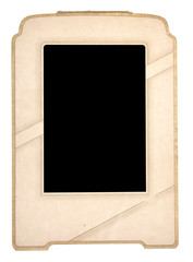 An Antique Picture Frame with Space to Add Your Own Image