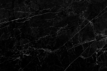 black marble pattern texture natural background