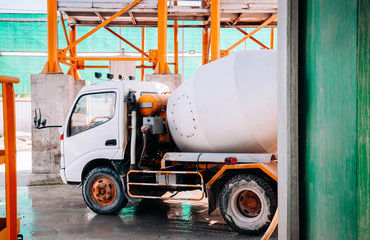 Cement truck of Cement batching plant factory