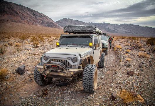 Vehicle in Desert