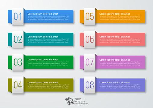 Web Button and Headline Design, Vector Graphics