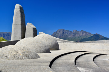 The Afrikaans Language Monument, near Paarl, in the Western Cape Province, South Africa