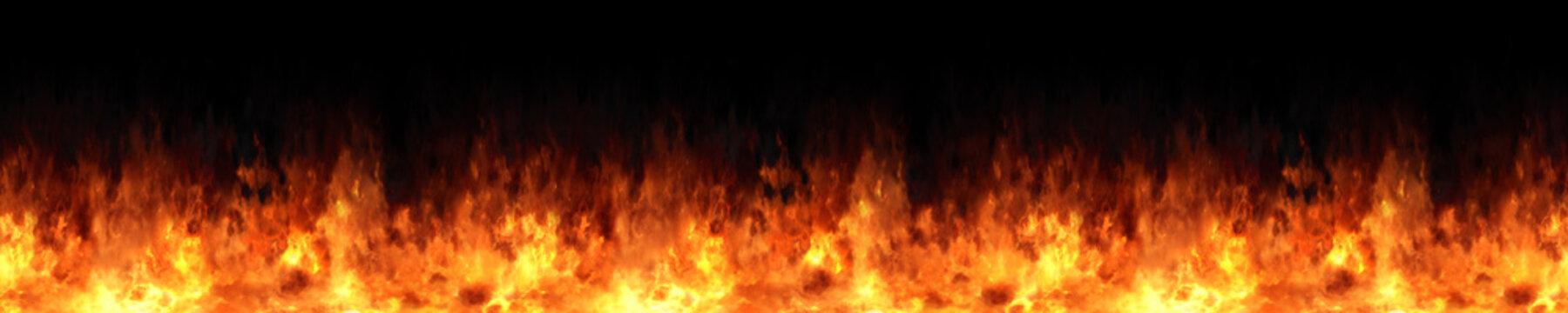 seamless fire texture illustration