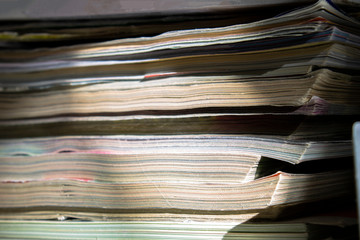 paper, stack, magazine, pile, newspaper, magazines, document, business, media, heap, information, white, isolated, papers, publication, page, education, book, old, file, news, office, documents, read,