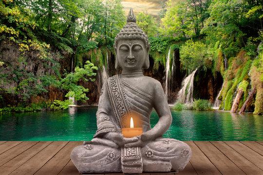buddha and silence