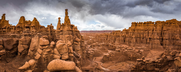 Goblin Valley State Park, Utah, USA Wall mural