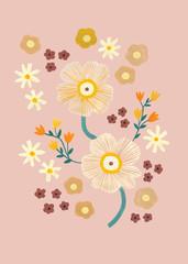 Gouache Flowers
