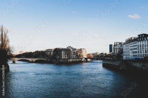 Paris, die Fluss