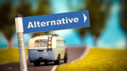 Schild 366 - Alternative