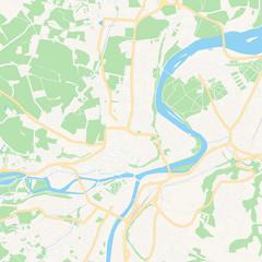 Steyr, Austria printable map