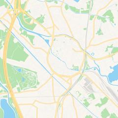 Mechelen , Belgium printable map