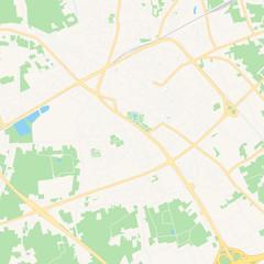 Sint-Niklaas , Belgium printable map