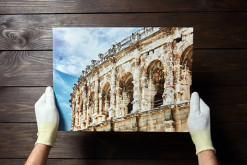 Photography printed on canvas. Wall decor