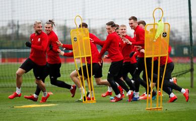 International Friendly - Wales Training