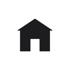 Home  icon. House vector icon eps10. home in trendy flat style isolated on background. home icon page symbol for your web site design home icon logo, app, UI.