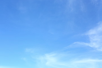 white cloud on blue sky weather background