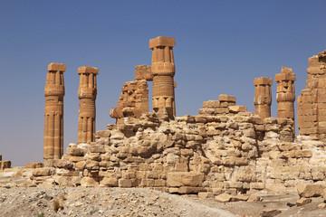 Sesebi temple, Sudan, Pharaoh, Nubia, Nile