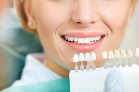Teeth whitening dental clinic.