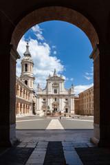 the Basilica della Santa Casa in Italy Marche
