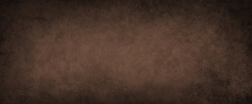 dark brown background with lots of distressed grunge texture in an old vintage dark coffee color design