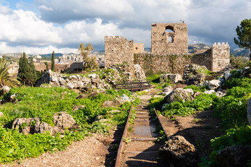 Byblos archeological site