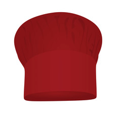 Red chief hat  vector