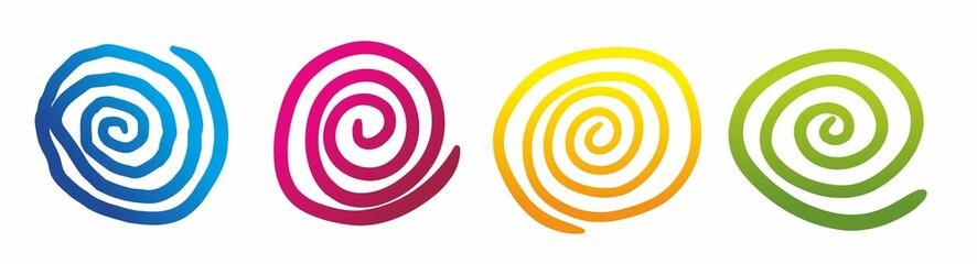 Printed kitchen splashbacks Spiral spirale1903a