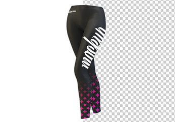 Athletic Leggings Mockup