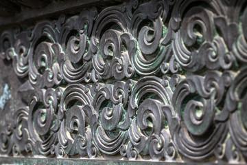 Orient metal traditional decorative art