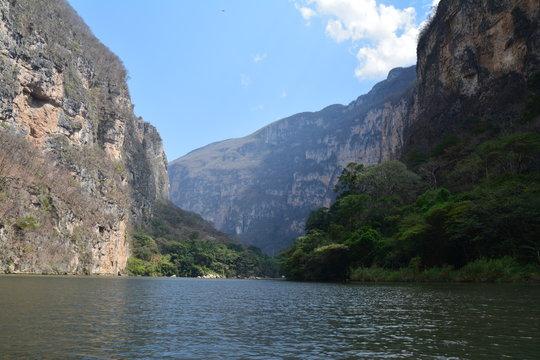 Cañon del Sumidero Chiapas Mexique - Sumidero Canyon Mexico