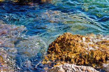 Rocky Coast. Adriatic Sea