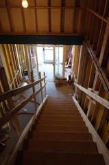 Framed stairwell