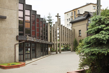 Catholic school in Gdynia. Poland