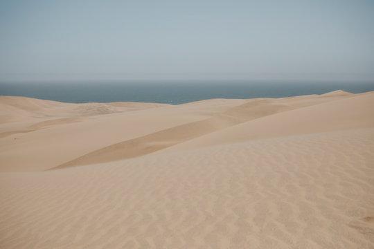 Namibia, Walvis Bay, Namib-Naukluft National Park, Sandwich Harbor, dune landscape