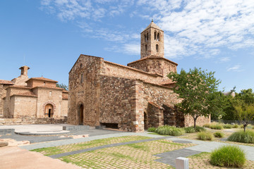 Romanesque church of Santa maria, Terrassa, Catalonia, Spain