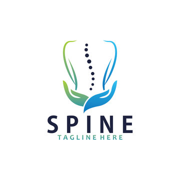 Spine care logo