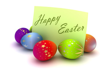 Happy Easter Note