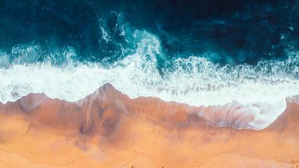 Aerial view of Waves and Beach of Great Ocean Road Australia Fototapete