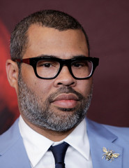"Director Peele attends the ""Us"" premiere at The Museum of Modern Art in New York City, New York"