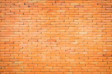 Orange brick wall antique texture background.