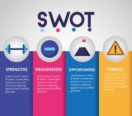 swot - infographic analysis